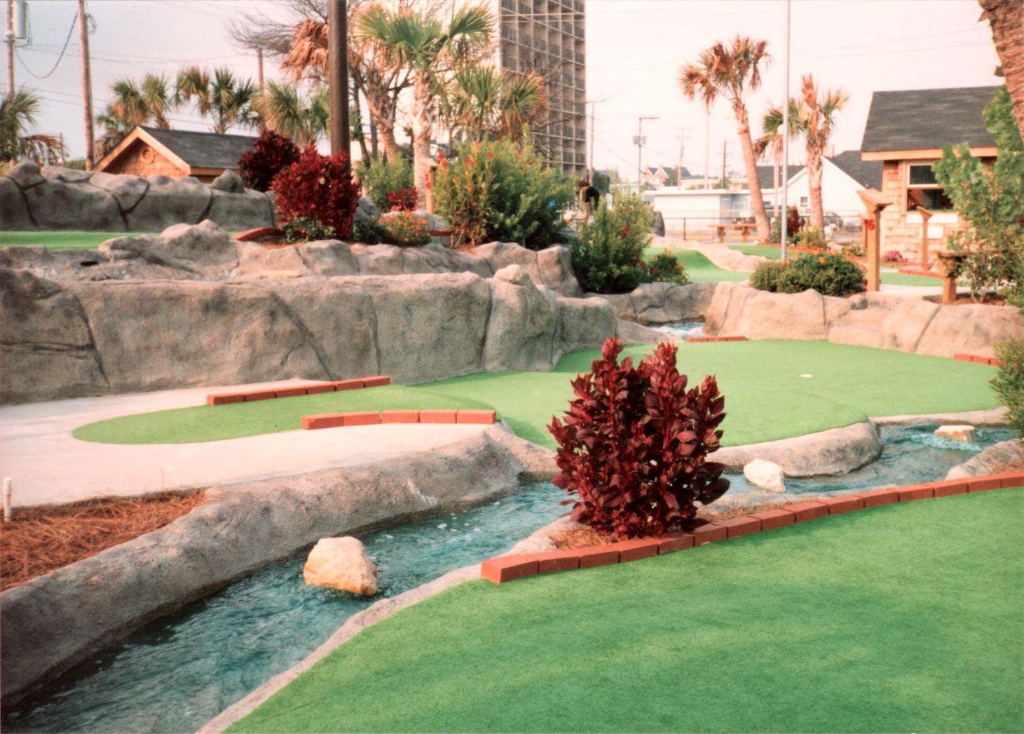 myrtle beach miniature golf ocean adventure golf